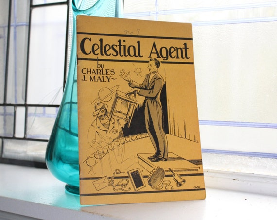 Vintage 1944 Magic Book Celestial Agent by Charles J Maly