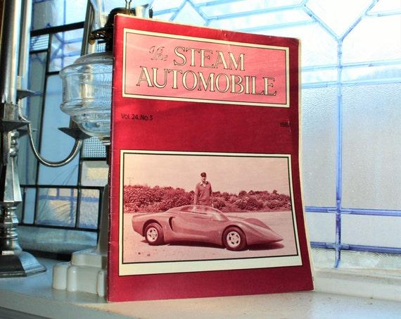 The Steam Automobile Magazine Vintage 1982