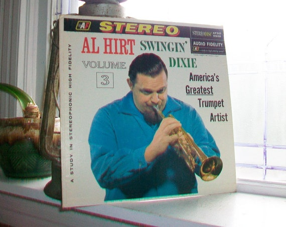 Al Hirt Swingin' Dixie Vintage 1960 LP Record Album AFSD 5926