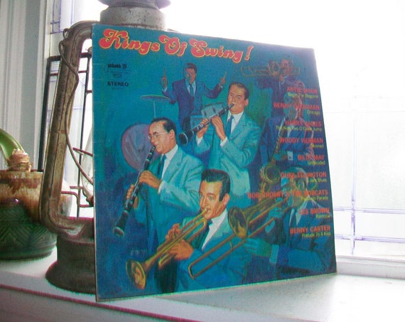 King of Swing LP Record Album SPC 3281 Vintage 1960s