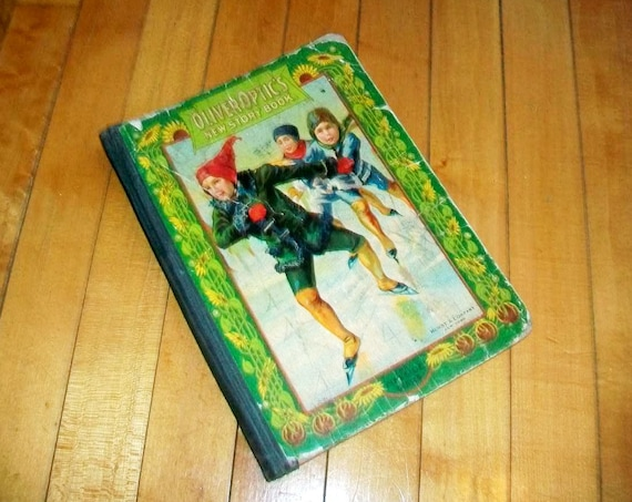 Oliver Optic's New Story Book For Children Antique 1902