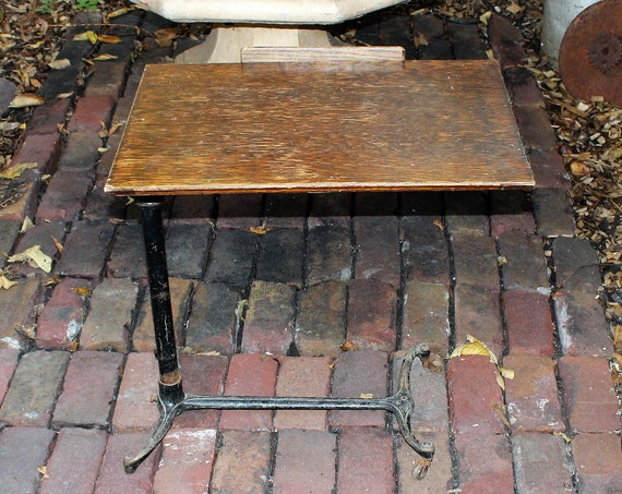 Antique Sidway Drafting Table Mechanical Adjustable Industrial Steampunk