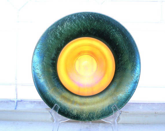 Antique Louis Comfort Tiffany Favrile Glass Bowl
