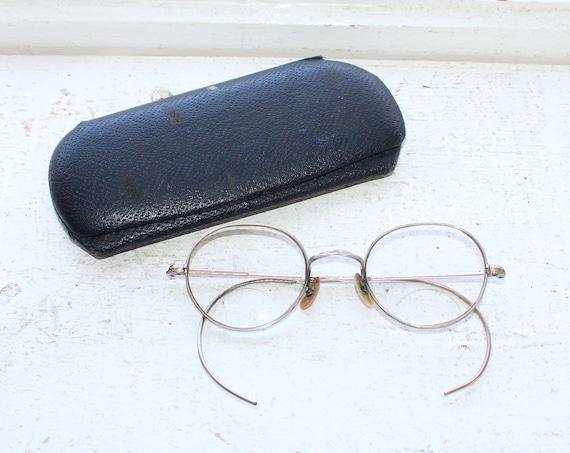 Antique Eye Glasses with Case 12 Karat Gold Filled