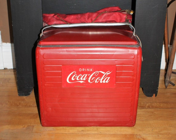 Vintage Coca Cola Cooler Ice Chest 1950s Coke Cooler