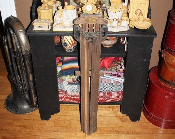 Antique Perfection Clothes Dryer Rack Wall Mount Primitive Farmhouse