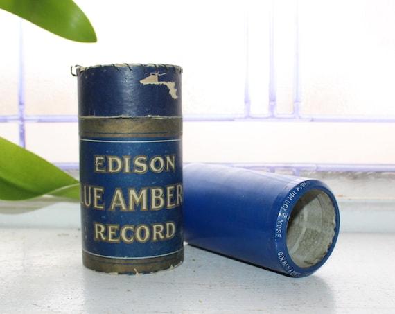 Antique Edison Cylinder Record 1644 Unlucky Mose Vaudeville Sketch