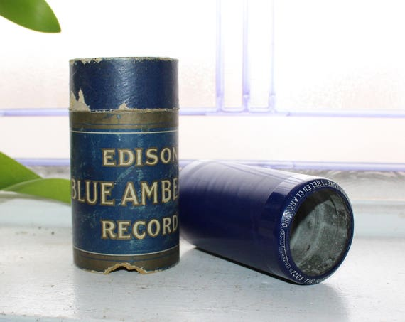 Antique Edison Cylinder Record 2803 The Nightingale Song You Remember Love
