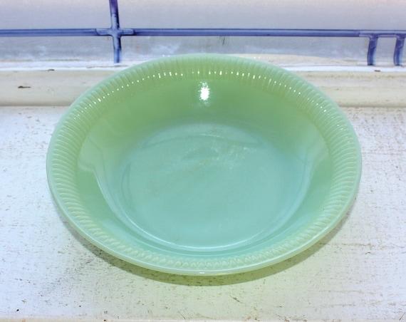 Vintage Jadite Jane Ray Cereal Bowl 1940s