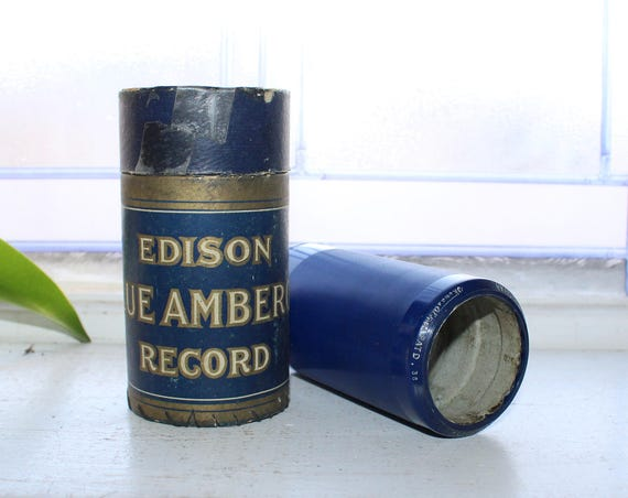 Antique Edison Cylinder Record 2368 A Perfect Day