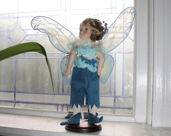 Vintage Cindy McClure Fairy Doll with Stand