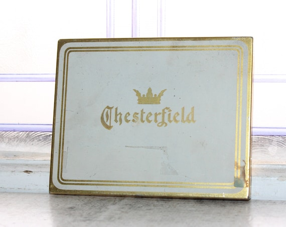 Vintage Chesterfield Cigarettes Tobacco Tin