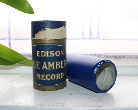 Antique Edison Cylinder Record 2657 War Talk At Pun'kin Center