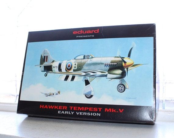 Vintage Model Airplane Eduard Hawker Tempest Mk.V 1:48 Scale
