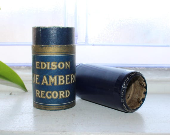 Antique Edison Cylinder Record 2352 My Father watches Over Me