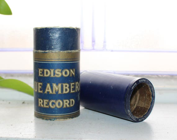 Antique Edison Cylinder Record 1810 Invercargill March Military Band