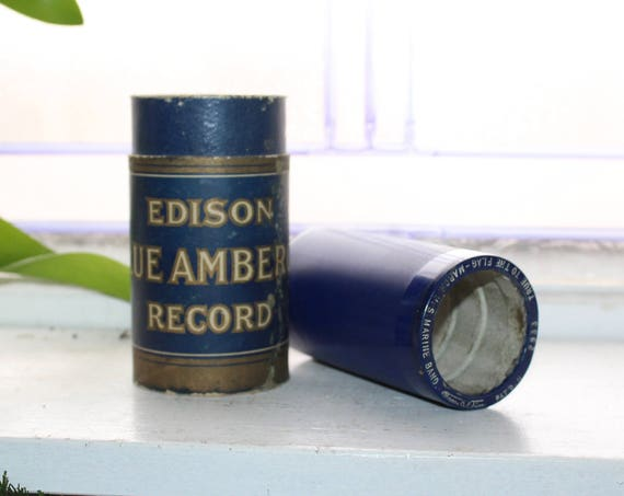 Antique Edison Cylinder Record 2933 True To The Flag March Marine Band
