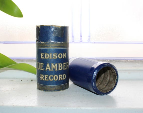 Antique Edison Cylinder Record 2908 Swing Along