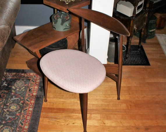 Mid Century Danish Modern Chair By Lenoir Vintage 1950s