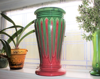 Large Art Deco Pedestal for Jardiniere Vintage 1920s Weller Pottery