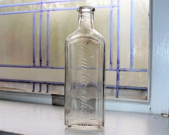 Antique Rawleighs Medicine Bottle