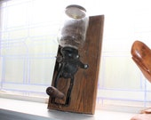 Antique Atwood Wall Mount Coffee Grinder Farmhouse Decor