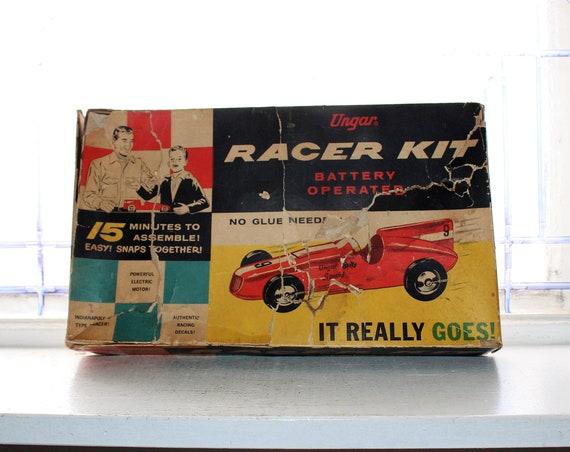 Vintage Model Car Racer Kit Ungar Electric Unused 1960s