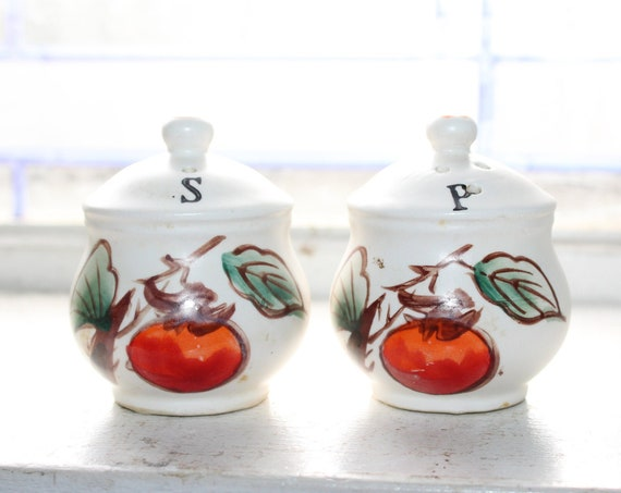 Vintage Salt and Pepper Shakers Miniature Cookie Jars
