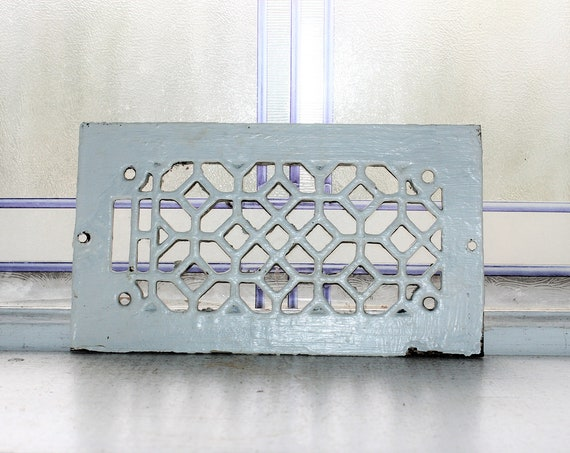 Antique Wall or Floor Vent Register Grate Architectural Salvage