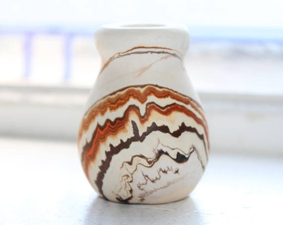 Vintage Nemadji Pottery Toothpick Holder Southwestern Decor