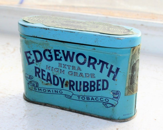 Vintage Edgeworth Tobacco Sample Tin
