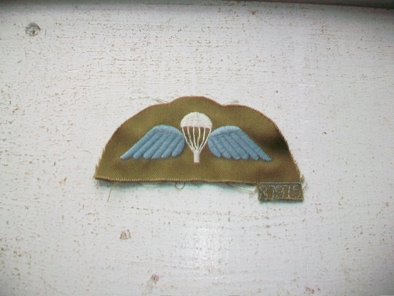 British Army Patch Airborne New Old Stock