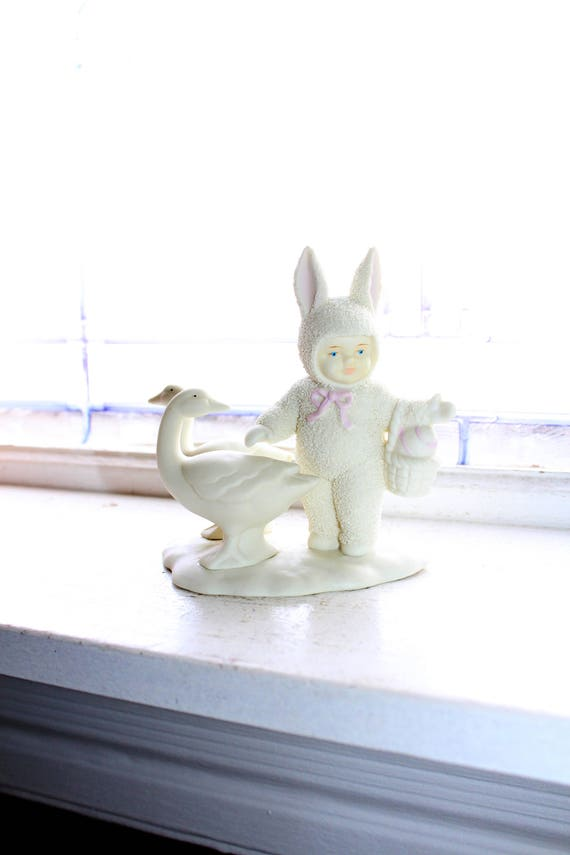 Dept 56 Snowbabies Figurine Goosy Goosy Gander 1995