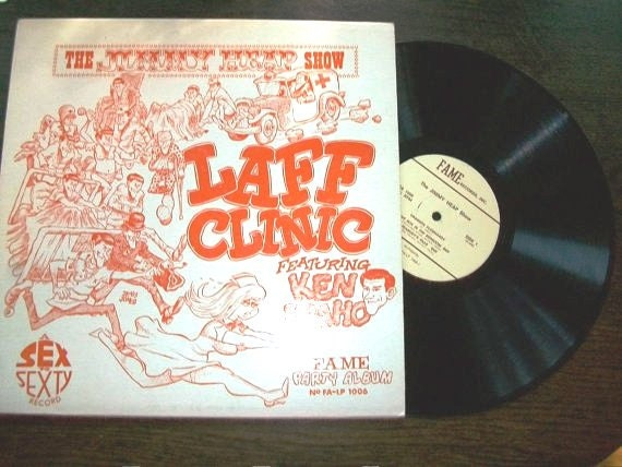Vintage LP Record Album The Jimmy Heap Show Laff Clinic Featuring Ken Idaho
