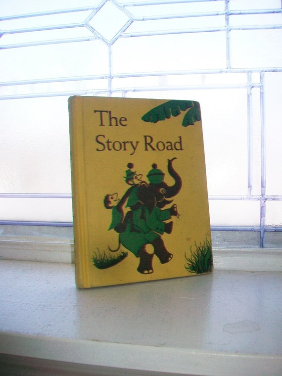Basic Reader Book Children's Book The Story Road Vintage 1957
