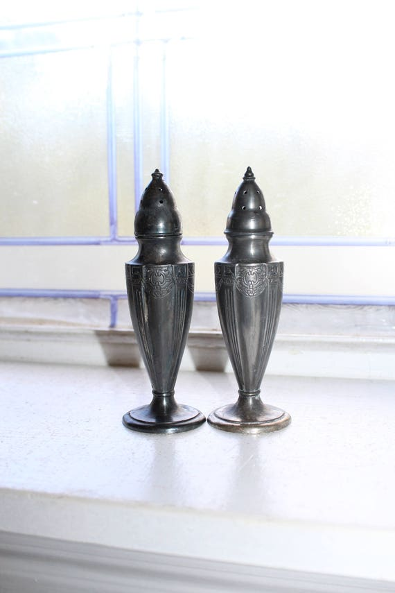 Vintage Salt & Pepper Shakers Astor by Poole
