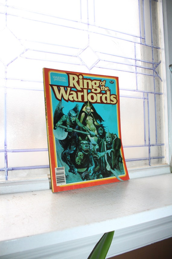 Ring of the Warlords Volume 1 Number 1 1979 Comic Book