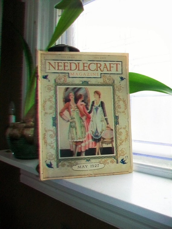 1927 Needlecraft Magazine of Home Arts May Issue Vintage Sewing 1920s