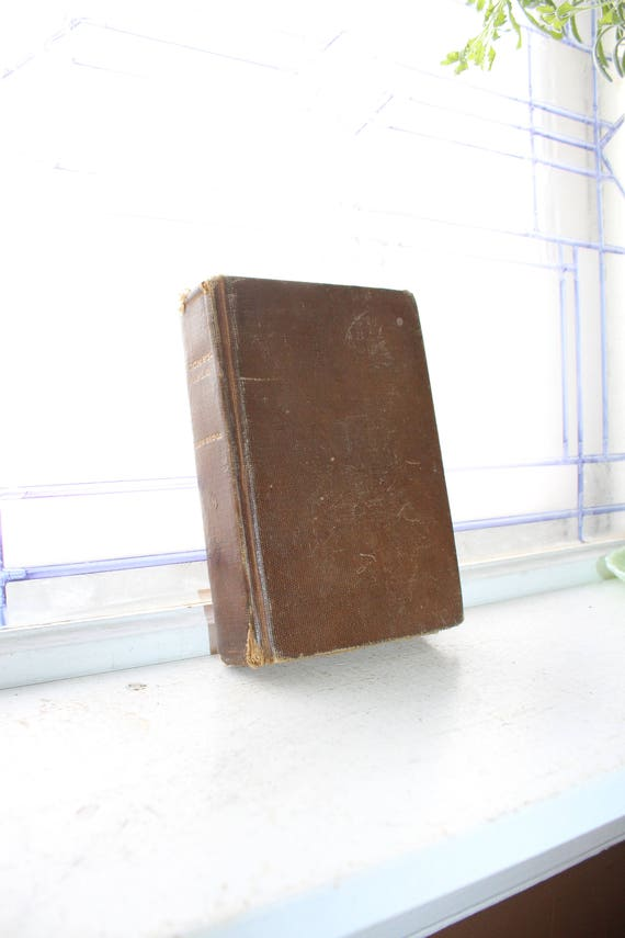Antique 1909 Book The Pocket Rifle by JT Trowbridge