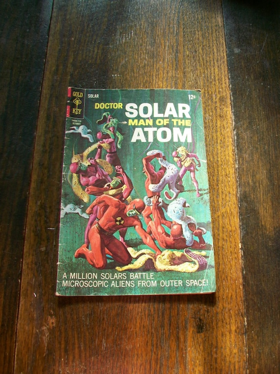 Doctor Solar Man of the Atom Comic Book 1967 Number 21 Gold Key Comics