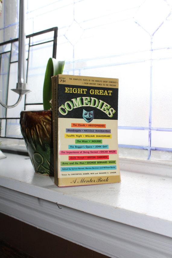 Classical Comedy Book Eight Great Comedies Vintage 1959