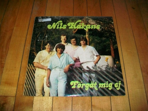 Swedish Music Record Album Nils Hakans Forgat Mig Ej STLP 830016