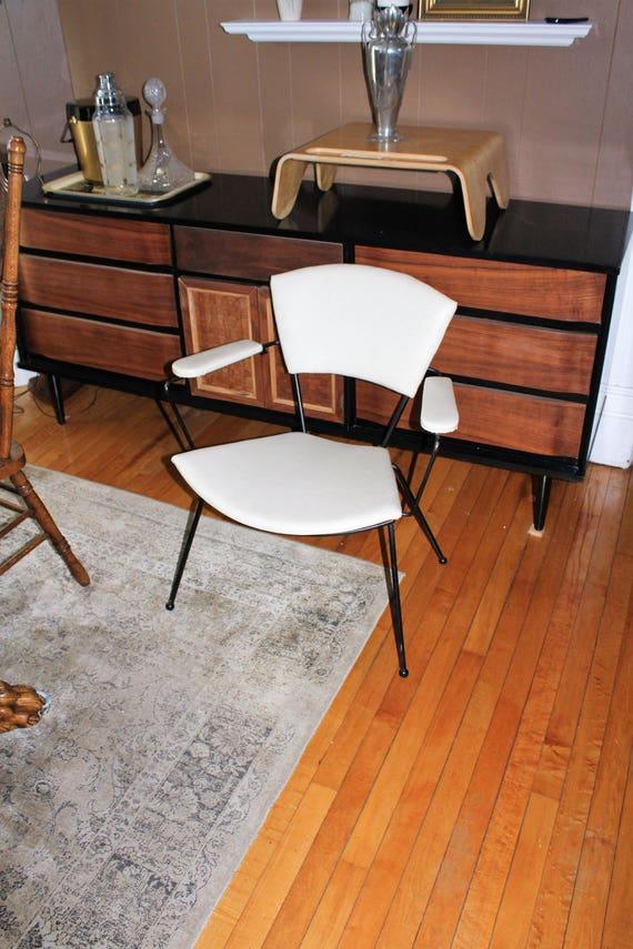Mid Century Modern Chair Lloyd Steel Products Vintage 1950s Etsy