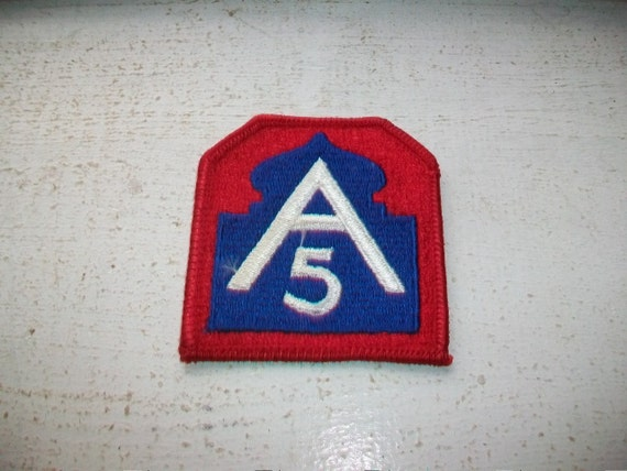 US Army Patch 5th Army New Old Stock