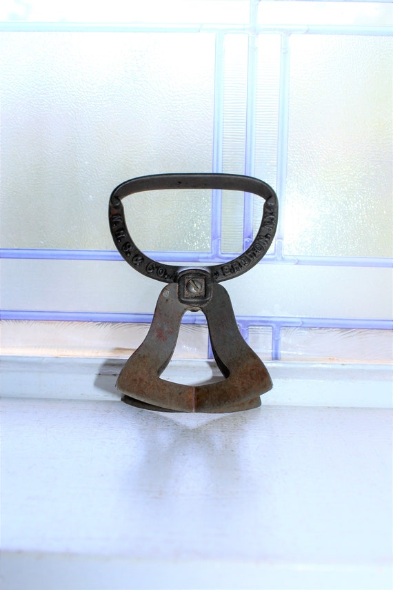 Antique Kitchen Chopper Late 19th Century Tool Rustic Farmhouse Decor