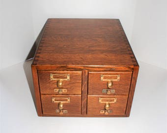 Antique file cabinet etsy malvernweather Images