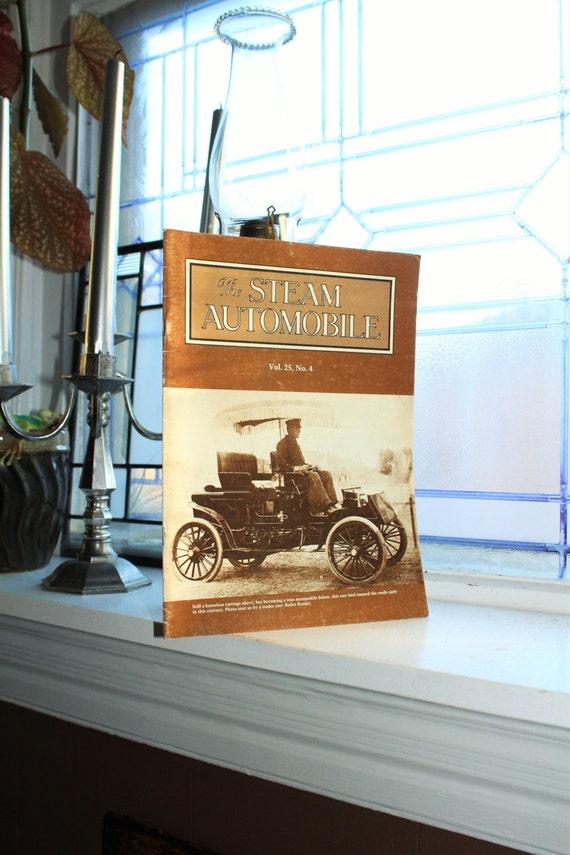 The Steam Automobile Magazine Vintage 1984
