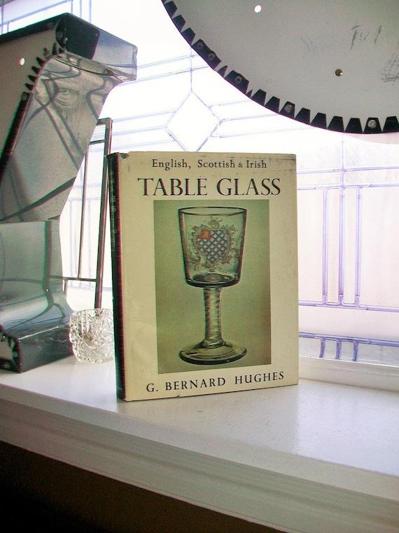 Reference Book English Scottish and Irish Table Glass