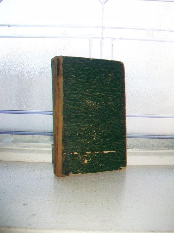 Antique 1885 Dano-Norwegian Book Undagtsftunder Eller Bonnebog