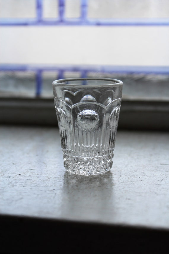 Antique Childs Toy Glass Tumbler EAPG